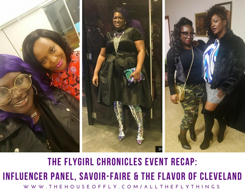 The Fashion Influencer Panel Cleveland, Savoir Faire Magazine 216 Talent Show, The Flavor of Cleveland Hair and Fashion Show, The FlyGirl Chronicles