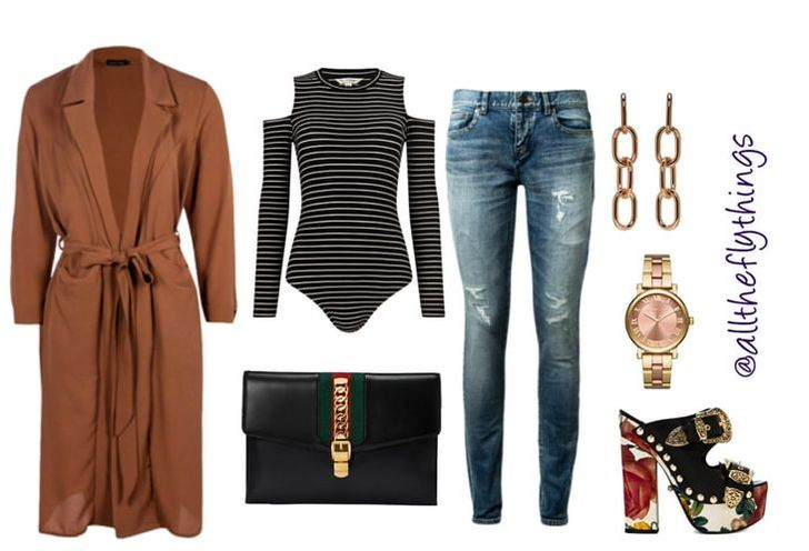 How to wear a duster for fall