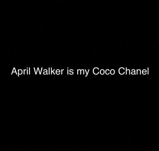 Walker Wear April Walker is my Coco Chanel