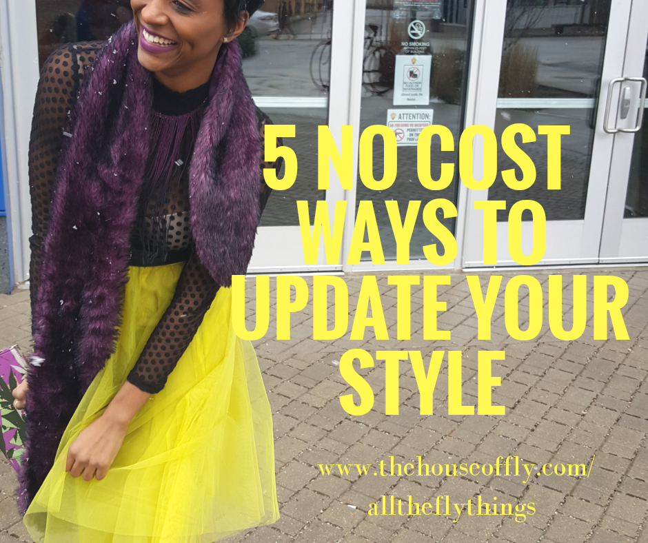 New Years style resolutions; Update your personal style