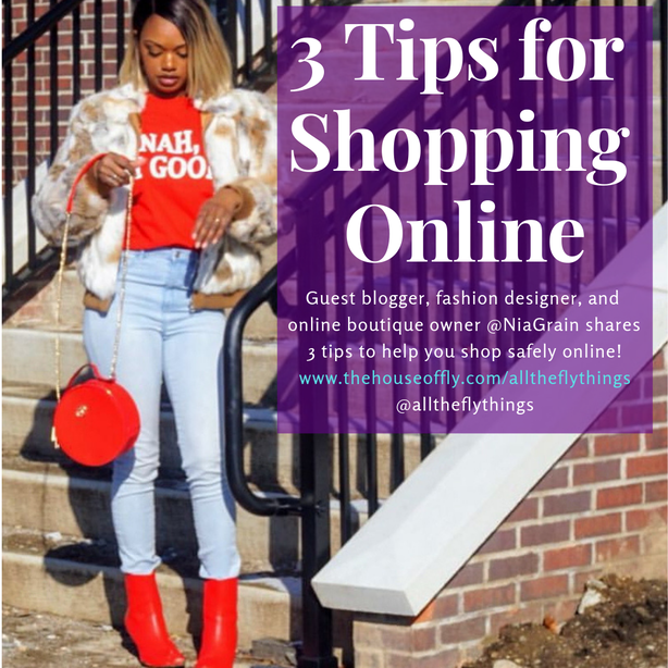 3 tips for shopping online