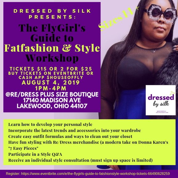 FlyGirl's Guide to Fatfashion and Style Workshop