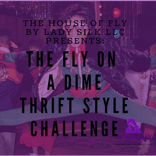 Fly on A Dime Thrift Style Challenge Graphic